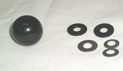 Ball Knob w/ Washers