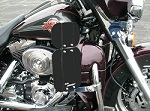 Harley Clamp On Air Wings