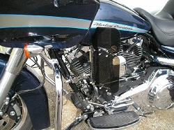 Harley Frame Mount Air Wing
