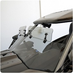 Slingshot Top Windshield Clamp On Wings